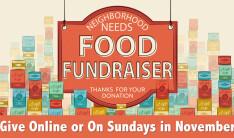 Neighborhood Needs Food Fundraiser