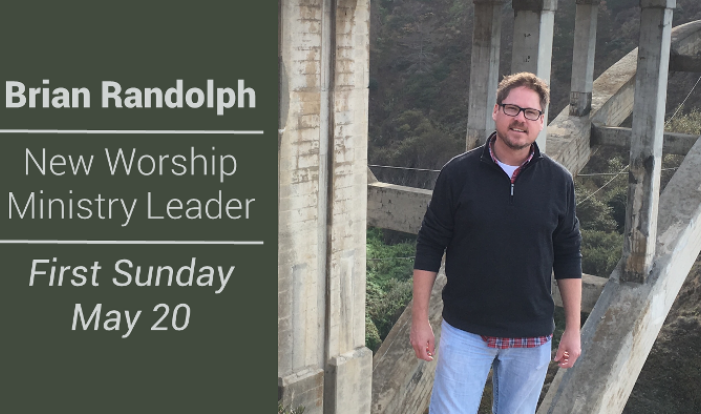 New Worship Ministry Leader