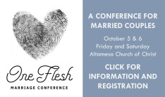 One Flesh Marriage Conference
