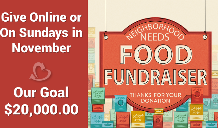 Neighborhood Needs Food Fundraiser 2018
