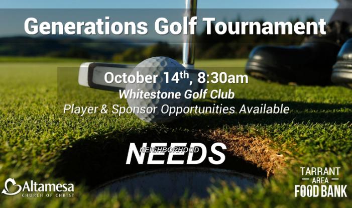 Generations Golf Tournament