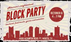 Block Party - October 6
