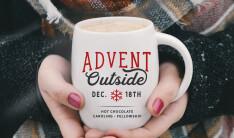 Advent Outside