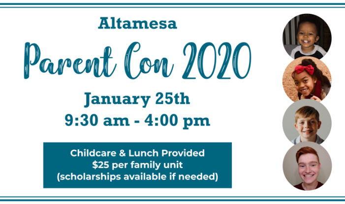 Altamesa Parent Con 2020 January 25