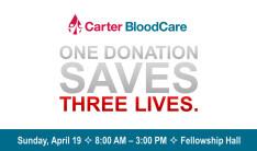 Blood Drive - April 19